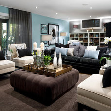 Modern Living Room by Jane Lockhart Interior Design