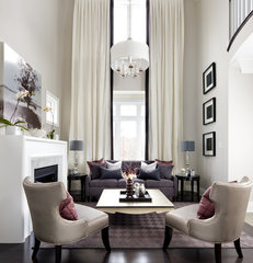 contemporary living room by Jane Lockhart Interior Design