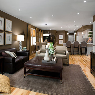 Brown And Taupe Colour Scheme Living Room Ideas Photos Houzz