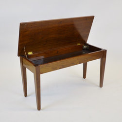 Jansen Piano Top Bench for Steinway - Dimensions:L 35''  × W 14''  × H 19''