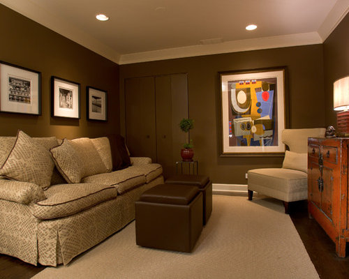 Rich brown color ideas pictures remodel and decor for Rich colors for living room