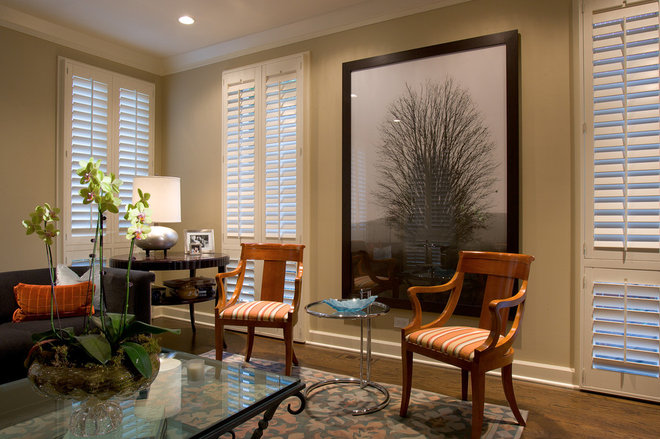 Eclectic Living Room by Michael Abrams Limited