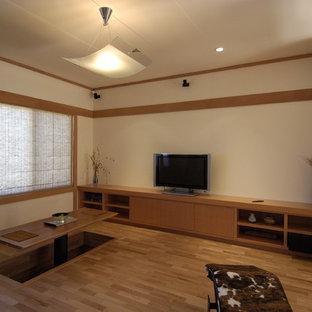 Japanese Inspired Remodel in Noe Valley-Living Room