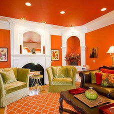 traditional living room Jeffrey Johnson