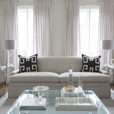 Contemporary Living Room by Jennifer Backstein Interiors