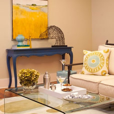 Eclectic Living Room by Jennifer Neal Design Studio