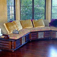 Asian Living Room by Jessica Hall Associates