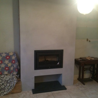 Minimalist living room photo in Cambridgeshire