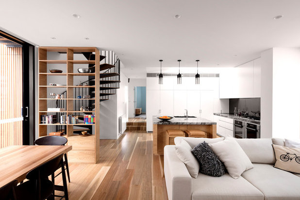 Contemporary Living Room by Mcmahon and Nerlich