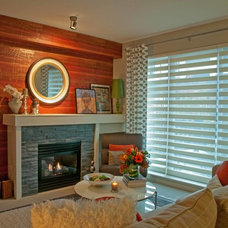 Eclectic Living Room by Jil Sonia Interiors