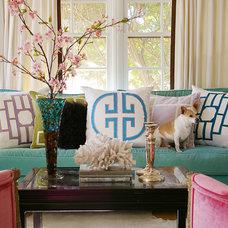 Eclectic Living Room by Jill Sorensen