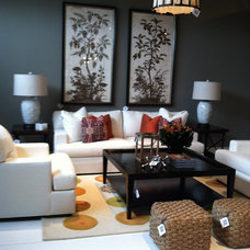 Contemporary Living Room by JillThomson Design
