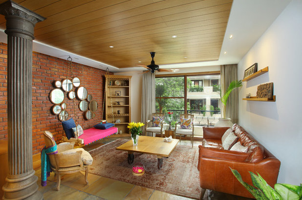 Contemporary Living Room by Group DCA