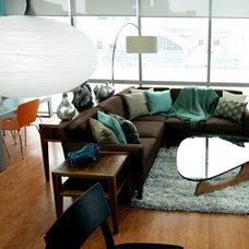 Modern Living Room by Jetset Designs
