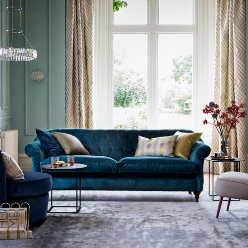 15 best traditional living room ideas designs houzz for Living room ideas john lewis