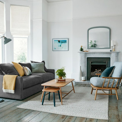 Transitional Living Room by John Lewis & Partners