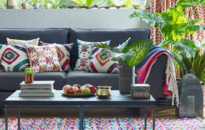 How to Decorate a Boho Living Room