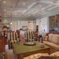 Traditional Living Room by John McDonald Company