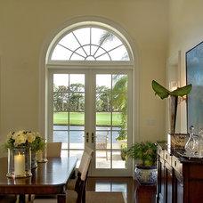 Traditional Living Room by John McDonald Company
