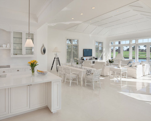 Save Photo. Polished Limestone Floor   Houzz