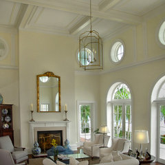 traditional living room by John McDonald Co.