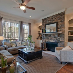 traditional living room by Tad Davis Photography