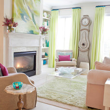 Eclectic Living Room by Jolene Smith Interiors