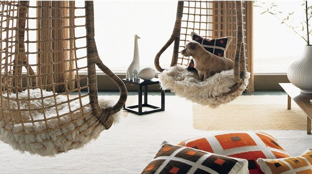 Hanging Furniture for Swinging Rooms