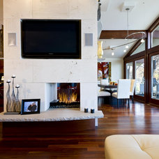 Contemporary Living Room by Jones Design Build