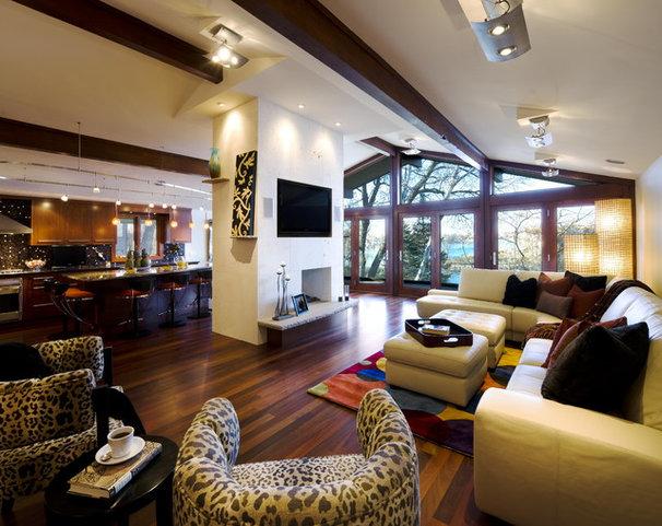 Contemporary Living Room by Jones Design Build