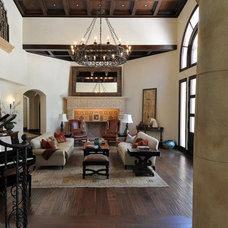 Mediterranean Living Room by Joni Koenig Interiors