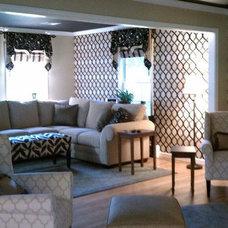 Contemporary Living Room by Jordan Conover Home Design