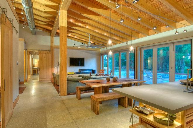 Modern Living Room by josh wynne construction