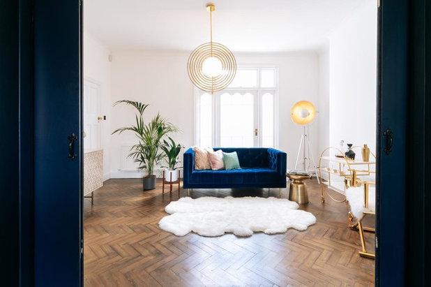 Minimalistisch Wohnbereich by My Bespoke Room