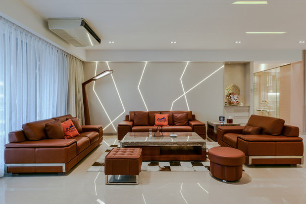 Contemporary Living Room by Prashant Bhat Photography