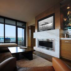Modern Living Room by Jonathan Quinn Barnett Ltd