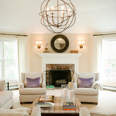Transitional Living Room by Delicious Designs Home