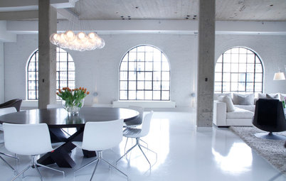 My Houzz: Ethereal Glow in a Chic Montreal Penthouse