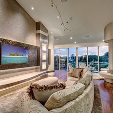 Modern Living Room by Michael Laurenzano Photography