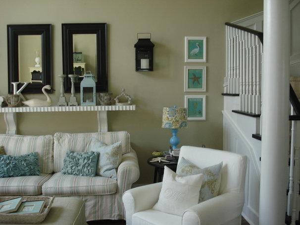 Traditional Living Room by Chris  Kauffman