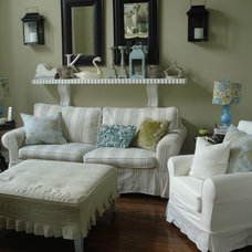 Traditional Living Room by Chris  Kauffman