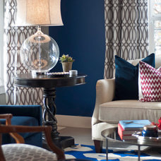 Traditional Living Room by Judith Balis Interiors