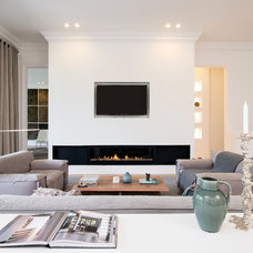 Contemporary Living Room by Maxine Schnitzer Photography