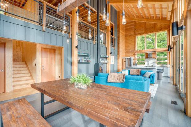 Industrial Living Room by Merle Inc.