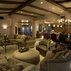 Mediterranean Living Room by James Glover Residential & Interior Design