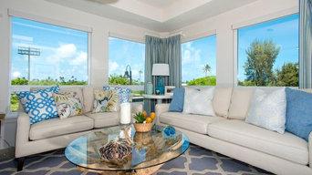 Kailua Beach Condo Living Room