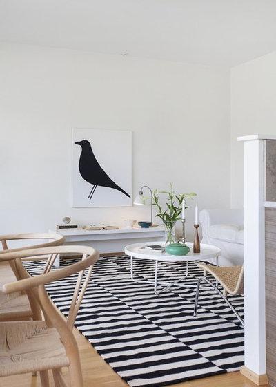 Scandinavian Living Room Kalkstensvägen