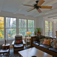 Traditional Living Room by Thomas Lawton Architect