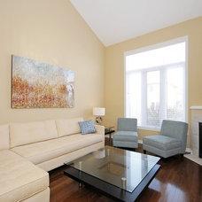 Contemporary Living Room by Juniper Lane Home