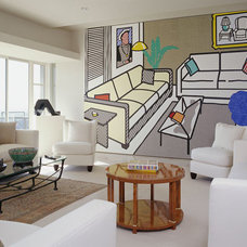 Modern Living Room by Kanner Architects - CLOSED